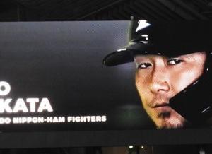 中田の本音「札幌ドームを小さくしてほしい」