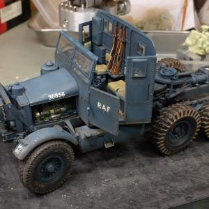 Scammell Pioneer SV2S :汚しの途中~