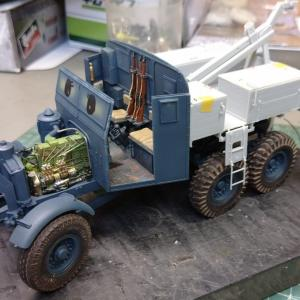 Scammell Pioneer SV2S:タイヤの装着