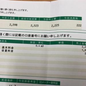 ガス料金②