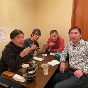 日本酒の会と先生!?