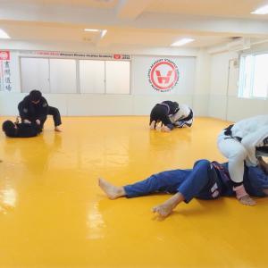 エスケープ方法も考えられているのが柔術