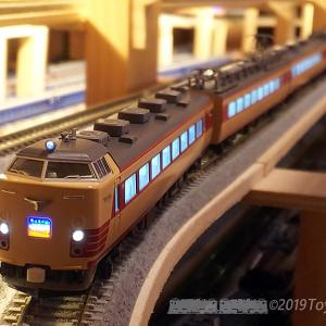 N-Gauge 485系Tc300番台編成弄り