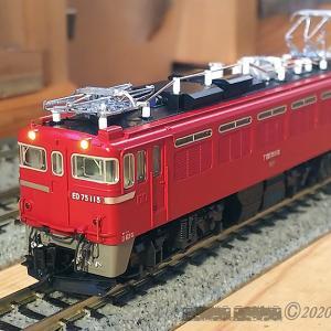 N-Gauge ED75 115入線 ~ KATO製改造車