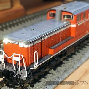 N-Gauge KATO DD51 1186ディティールアップ