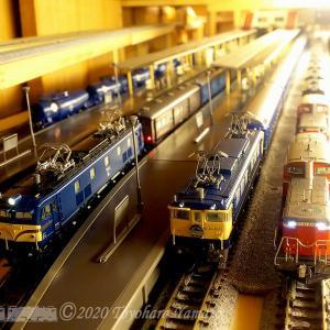 N-Gauge動画Vol.52~EF65あけぼの、EF58荷物列車など