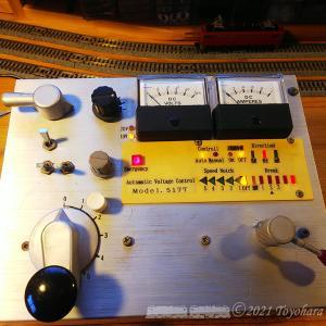 N-Gauge 昔作った2ハンドル制御装置