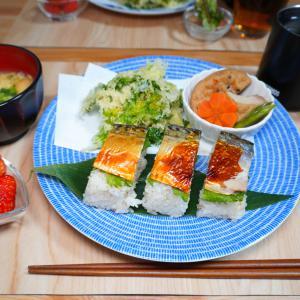 【2月25日】焼サバ寿司を作る