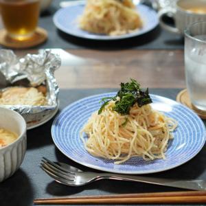 【7月13日】たらこスパゲティ