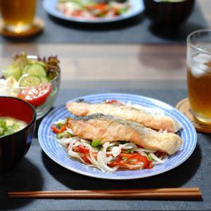 【9月6日】鮭の南蛮漬け