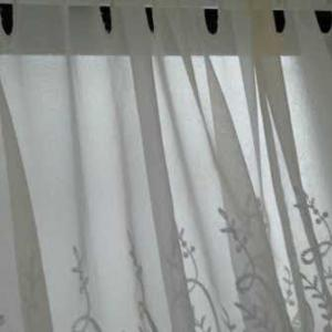 カーテンを洗う