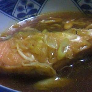 鮭のピリ辛煮