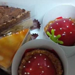 シャトレーゼのケーキ3種類