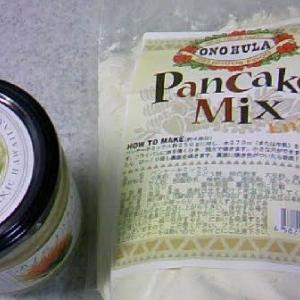 ハワイ島の花からとれたはちみつとパンケーキミックス