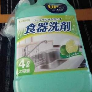 コーナンで見つけた食器洗剤