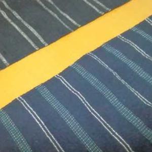 ダイソーの布で作ったランチョンマット