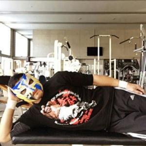 """""""悪魔仮面""""ケンドー・カシンが新年早々インフルエンザに感染していた!"""
