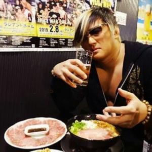 タイチが内藤哲也とのIC戦に向けて「麺ジャラスK」で決起集会を開催!
