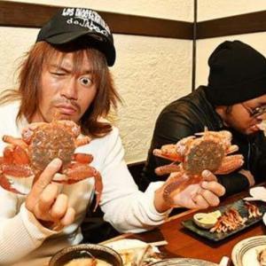 内藤哲也2019年一発目の緊急招集はファミレスではなく「高級カニ料理店」!