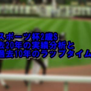 東京スポーツ杯2歳S徹底攻略 基本データからラップタイム調べつくし!