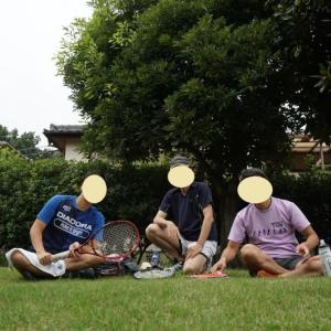 ☆テニス、プレーと食事会①
