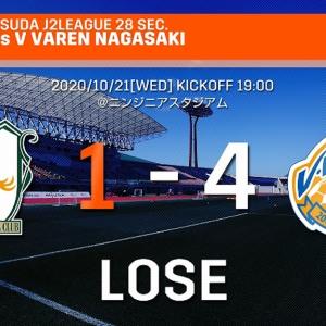 愛媛FC 第28節 ホーム長崎戦