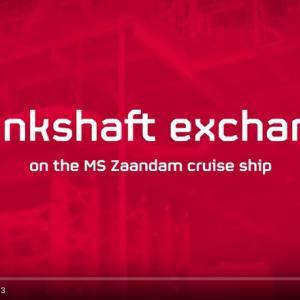 <重量輸送> ALE社による船舶エンジンクランクシャフト交換