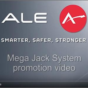 <重量輸送>ALE社Mega Jack Up / 5000トンをいとも簡単にジャッキアップ