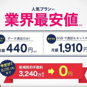 格安SIMで月5千円の貯蓄確保!楽天に買収されたDMMモバイルって?