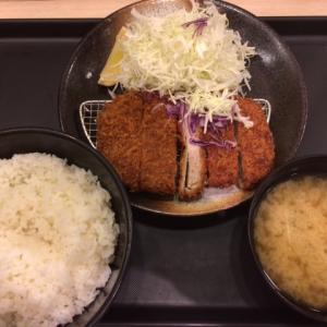 【松のや】新メニュー「大判ヒレかつ定食」を食べた感想