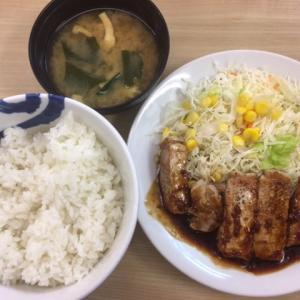 【松屋】新メニュー「厚切り豚テキ定食」を食べた感想