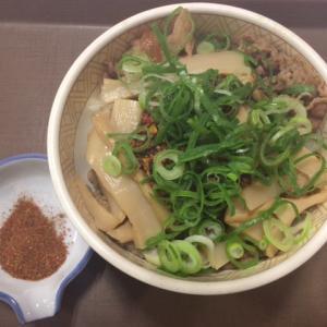 【すき家】新メニュー「食べラー・メンマ牛丼」を食べた感想