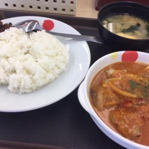 【松屋】新発売の「ごろごろチキンのバターチキンカレー」を食べてきた!