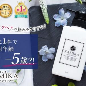 KAMIKA(カミカ)黒髪クリームシャンプーの販売店や市販の実店舗は?最安値もチェック!