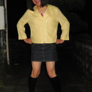 黄色のライダースを羽織ったの その4
