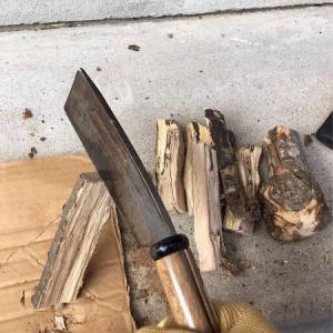 【鉈と斧】「切る」と「割る」の違い