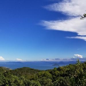 王子が岳(岡山県)で海と空と雲と美味しいカフェ