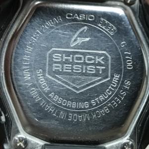 Gショックの電池交換をしてみた