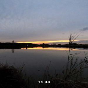 日没はもう午後3時台~暗い季節へ