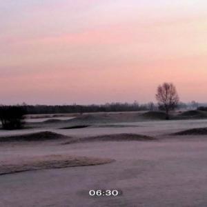 霜模様~変化の激しい日の朝の一時