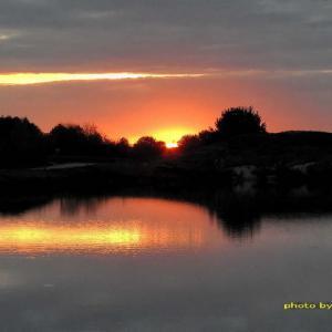 変化の激しかった日々の夕焼け3景