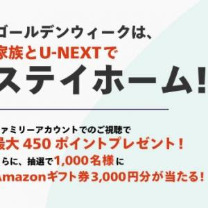 U-NEXT amazonギフト券