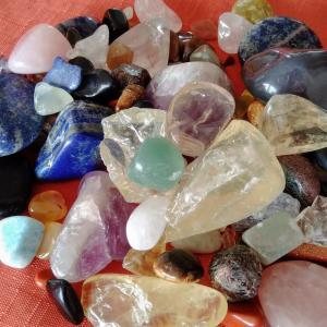 博石館で宝石探し体験