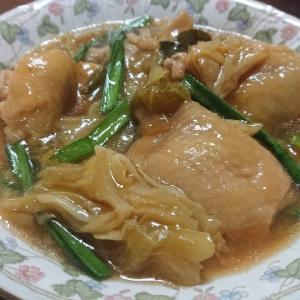 鶏とキャベツの治部煮風