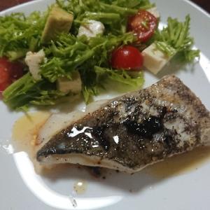 真鱈のポワレ バルサミコソース