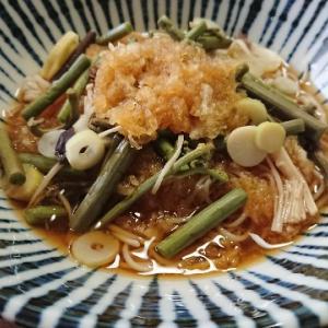 おろし山菜蕎麦