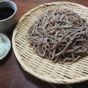 盛り蕎麦(奈良屋『二八の裁ちそば』)