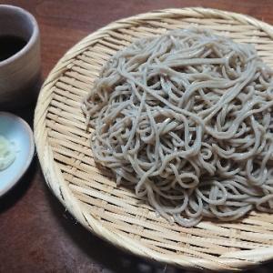 盛り蕎麦(桜井商店『深大寺そば』)