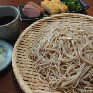 盛り蕎麦(島田製粉『麺匠の味東京 深大寺そば』)