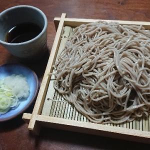 盛り蕎麦(本田商店『全層挽き有機蕎麦』)